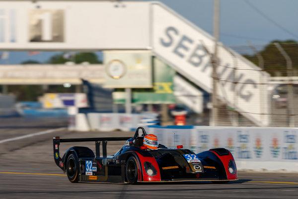 2017 IMSA Prototype Challenge Sebring International Raceway, Sebring, FL USA Wednesday 15 March 2017 32, Paul La Haye, MPC, Elan DP-02 World Copyright: Jake Galstad/LAT Images ref: Digital Image lat-galstad-SIR-0317-14960