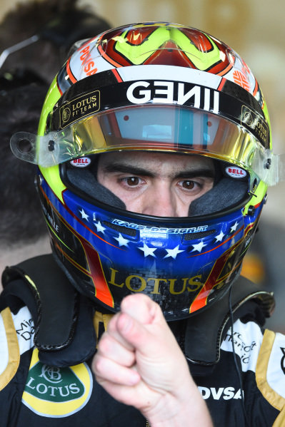 Pastor Maldonado (VEN) Lotus at Formula One World Championship, Rd1, Australian Grand Prix, Qualifying, Albert Park, Melbourne, Australia, Saturday 14 March 2015.