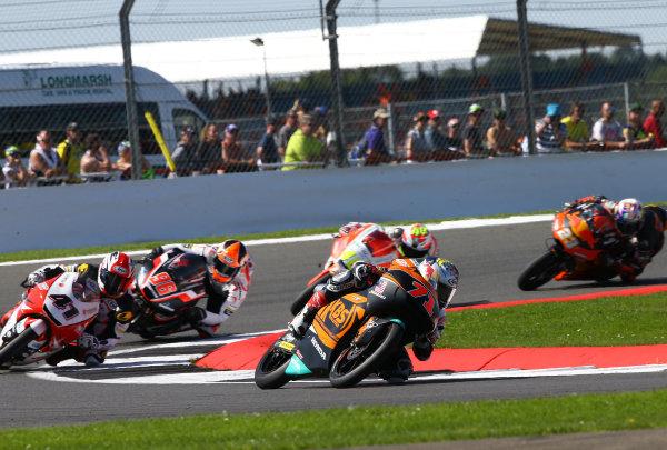 2017 Moto3 Championship - Round 12 Silverstone, Northamptonshire, UK. Sunday 27 August 2017 Ayumu Sasaki, SIC Racing Team World Copyright: Gold and Goose / LAT Images ref: Digital Image 690002