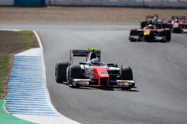 2017 FIA Formula 2 Round 10. Circuito de Jerez, Jerez, Spain. Saturday 7 October 2017. Jordan King (GBR, MP Motorsport).  Photo: Andrew Ferraro/FIA Formula 2. ref: Digital Image _FER1846