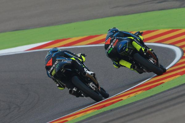 2017 Moto3 Championship - Round 14 Aragon, Spain. Saturday 23 September 2017 Nicolo Bulega, Sky Racing Team VR46, Foggia World Copyright: Gold and Goose / LAT Images ref: Digital Image 14004