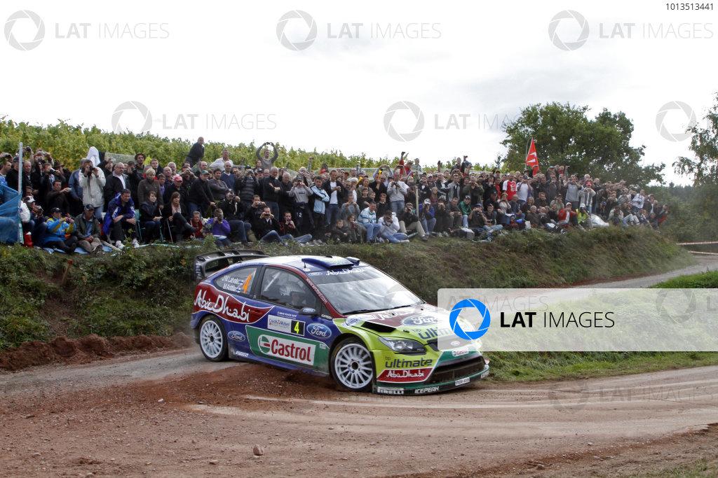 Round 11Rally de France 30/9-3/10Jari-Matti Latvala, Ford WRC, Action.Worldwide Copyright: McKlein/LAT