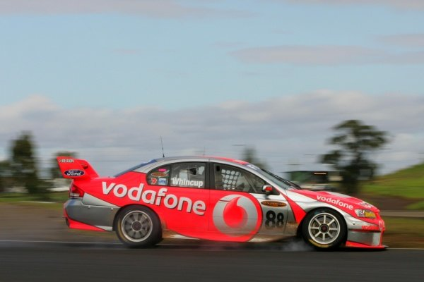 Jamie Whincup (aust) Vodafone Ford was 3rd outright