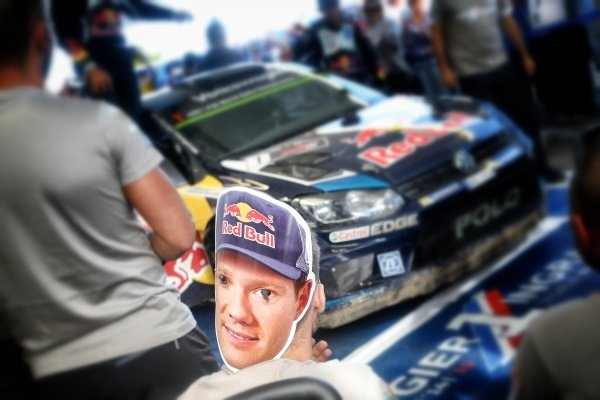 Fans and Rally winner Sebastien Ogier (FRA) / Julien Ingrassia (FRA), Volkswagen Polo R WRC at FIA World Rally Championship, R10, Coates Hire Rally Australia, Day Three, Coffs Harbour, New South Wales, Australia, 13 September 2015.