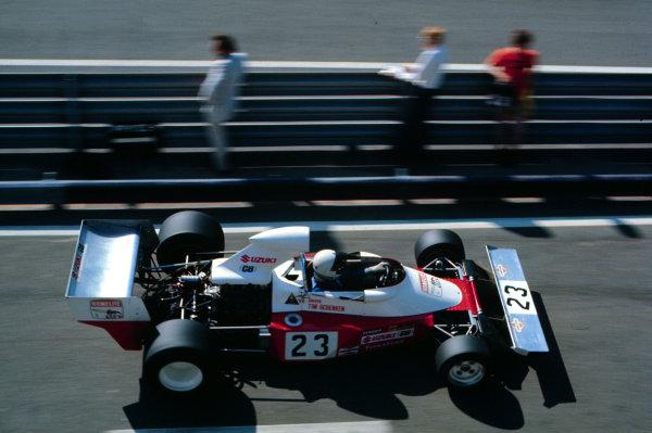1974 Dutch Grand Prix.Zandvoort, Holland.21-23 June 1974.Tim Schenken (Trojan T103 Ford). He failed to qualify.World Copyright - LAT Photographic