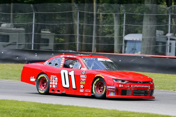 #01: Stephen Leicht, JD Motorsports, Chevrolet Camaro The McLain Group