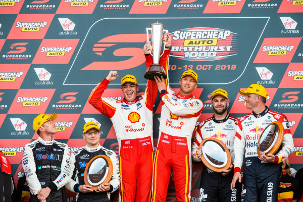 James Courtney, Jack Perkins, Walkinshaw Andretti United Holden, Scott McLaughlin, Alexandre Premat, DJR Team Penske Ford, Shane van Gisbergen, Garth Tander, Triple Eight Race Engineering Holden