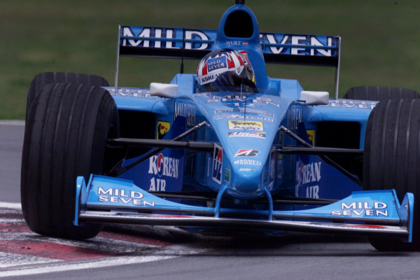 2000 Canadian Grand Prix.Montreal, Quebec, Canada.16-18 June 2000.Alexander Wurz (Benetton B200 Playlife) 9th position.World Copyright - LAT Photographic