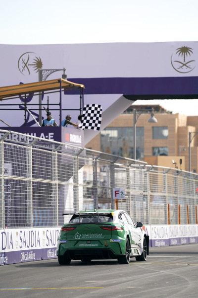 Mashhur Bal Hejaila (SAU), Saudi Racing takes the chequered flag