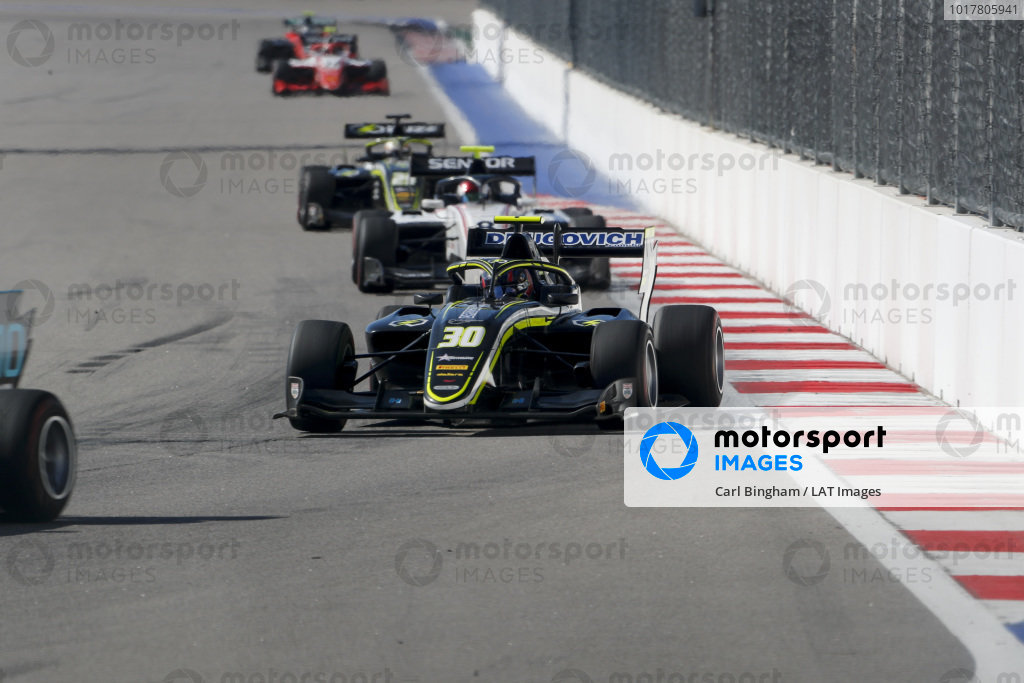 SOCHI AUTODROM, RUSSIAN FEDERATION - SEPTEMBER 29: Felipe Drugovich (BRA, Carlin Buzz Racing) during the Sochi at Sochi Autodrom on September 29, 2019 in Sochi Autodrom, Russian Federation. (Photo by Carl Bingham / LAT Images / FIA F3 Championship)