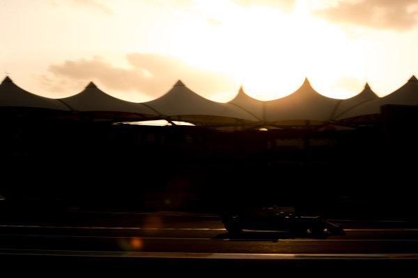 F1 Testing - Abu Dhabi Day 1