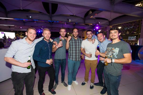 2017 Awards Evening. Yas Marina Circuit, Abu Dhabi, United Arab Emirates. Sunday 26 November 2017. ART Grand Prix Photo: Sam Bloxham/FIA Formula 2/GP3 Series. ref: Digital Image _W6I4454