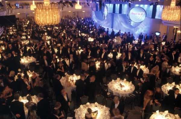 1997 Autosport Awards.Grosvenor House Hotel, Park Lane, London, Great Britain. 7 December 1997.The Great Room and stage.World Copyright: Dixon/LAT PhotographicRef: 35mm transparency
