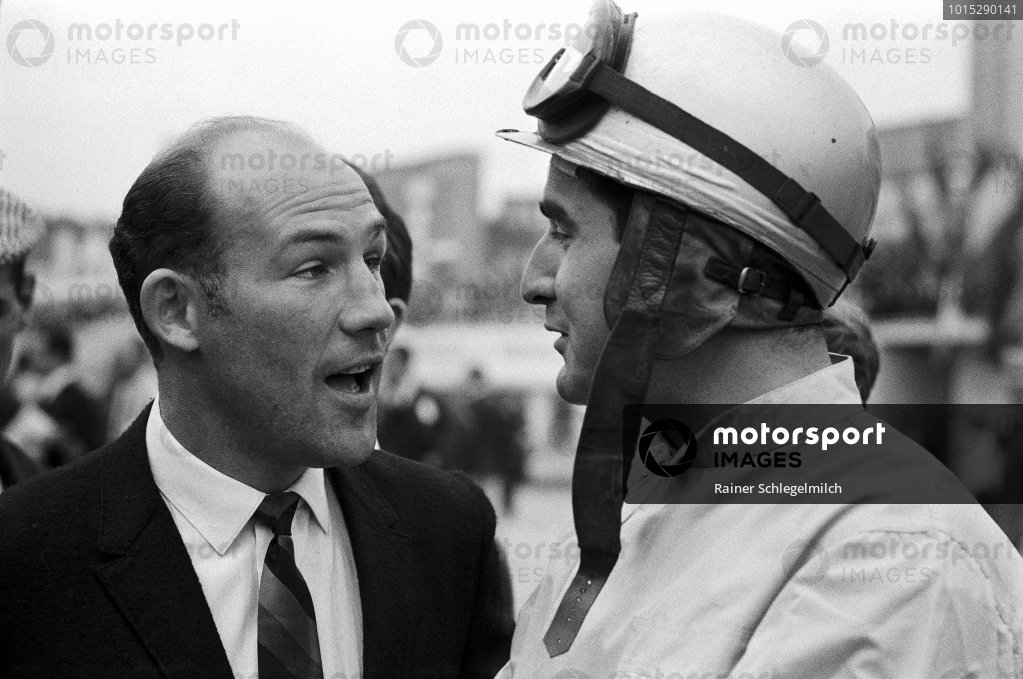 Stirling Moss and Lorenzo Bandini.