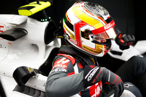 Interlagos, Sao Paulo, Brazil. Friday 11 November 2016. Charles Leclerc, Test and Reserve Driver, Haas F1. World Copyright: Andy Hone/LAT Photographic ref: Digital Image _ONZ4651