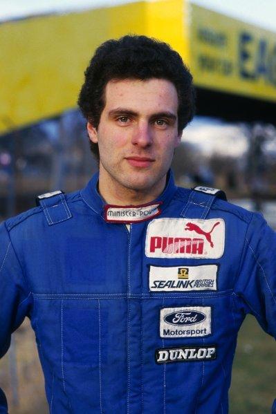Roland Ratzenberger (AUT) Van Diemen.British Formula Ford 1600 Championship, Oulton Park, England, 1986.
