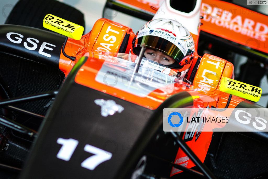 ALCANIZ (ESP) NOV 03-06 2015 - Collective test of the Formula 3.5 V8 Series at Motorland Aragon. Anthoine Hubert #17 Tech 1 Racing. Portrait. © 2015 Sebastiaan Rozendaal / Dutch Photo Agency / LAT Photographic