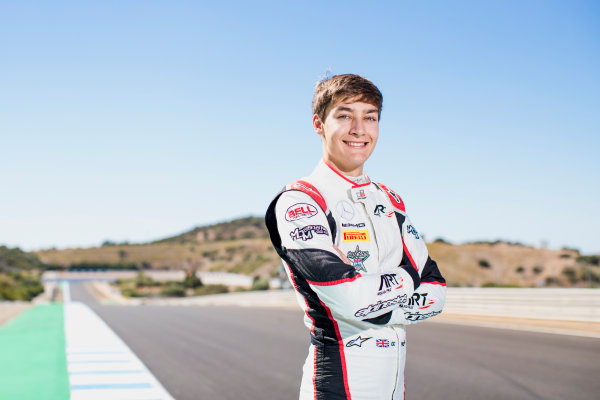 2017 GP3 Series Round 7.  Circuito de Jerez, Jerez, Spain. Sunday 8 October 2017. George Russell (GBR, ART Grand Prix).  Photo: Zak Mauger/GP3 Series Media Service. ref: Digital Image _56I3962
