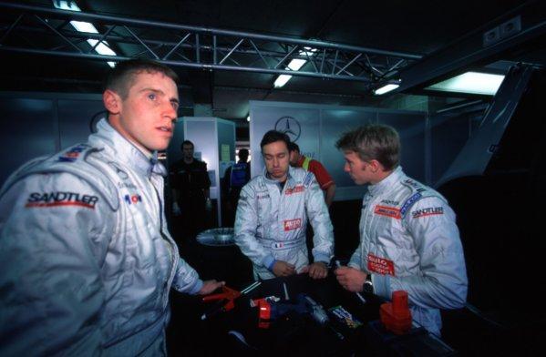 Le Mans, France. 12th - 13th June 1999.Peter Dumbreck, Mercedes CLR, portrait. World Copyright: LAT Photographic.Ref:  99LM23