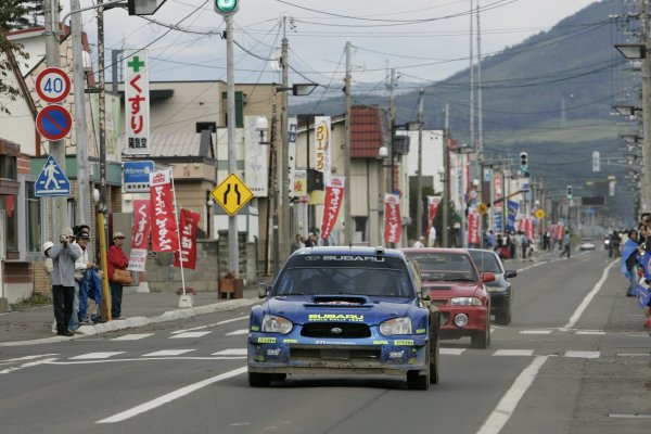 2005 FIA World Rally Championship.Round 13, Rally Japan. 29th September- 2nd October 2005.xxxWorld Copyright: McKlein/LAT Photographic.ref: Digital Image Only.