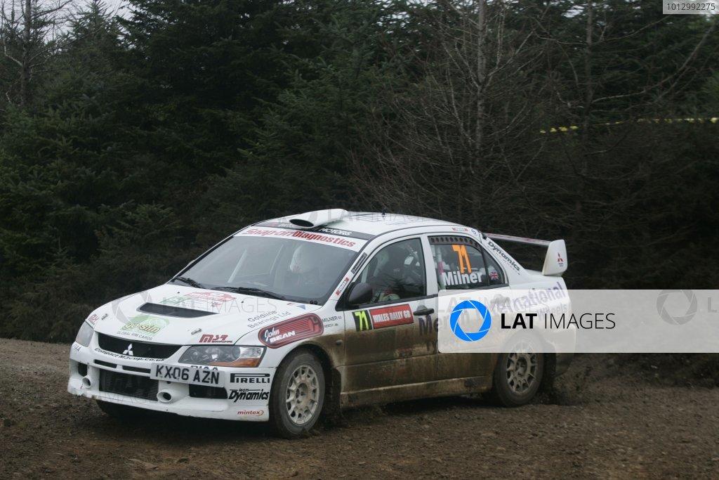 2006 British Rally Championship.Wales Rally GB. 1st-3rd December 2006.Jonny Milner.World Copyright: Ebrey/LAT Photographic.