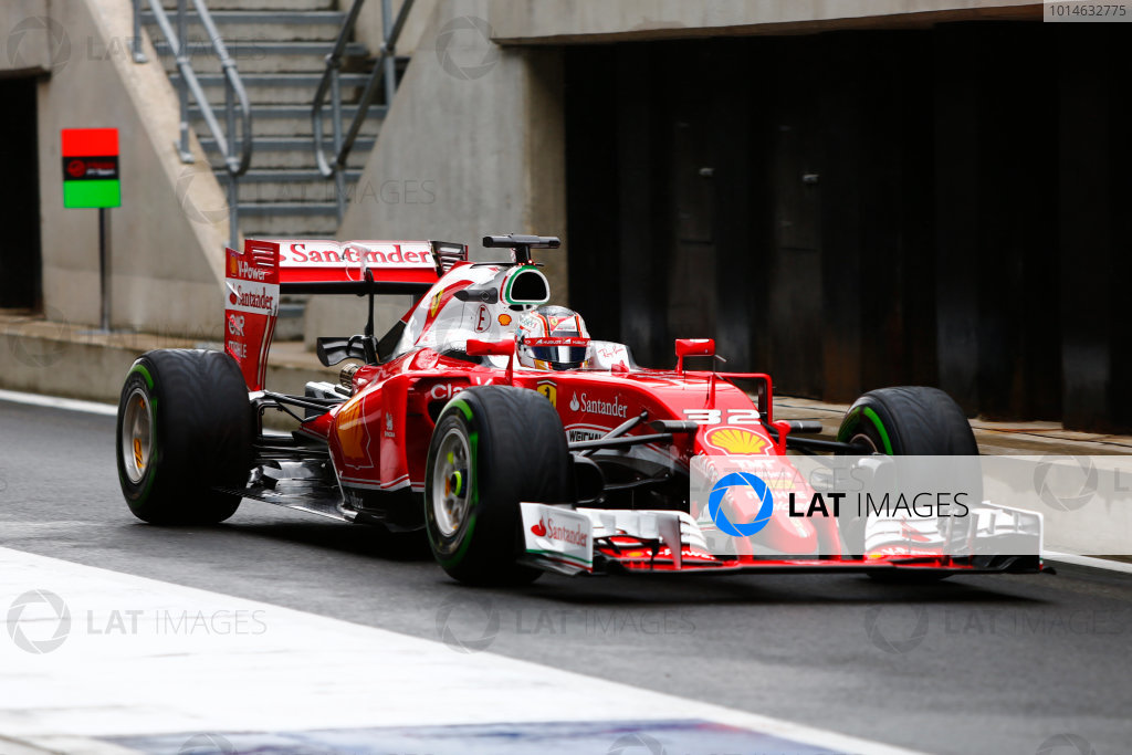 Silverstone, Northamptonshire, UK. Tuesday 12 July 2016. Charles Leclerc, test and development driver, Ferrari SF16-H.  World Copyright: Zak Mauger/LAT Photographic ref: Digital Image _79P9750