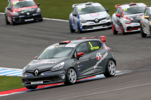 2017 Renault Clio Cup, 15th-16th April 2017, Donington Park, Lee Pattison (GBR) WDE Motorsport Renault Clio Cup World Copyright. JEP/LAT Images