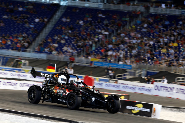 2017 Race of Champions Miami, Florida, USA Sunday 22 January 2017 Sebastian Vettel, Ariel Atom Cup World Copyright: Alexander Trienitz/LAT Photographic ref: Digital Image 2017-RoC-MIA-AT2-3028