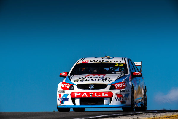 2017 Supercars Championship Round 4.  Perth SuperSprint, Barbagallo Raceway, Western Australia, Australia. Friday May 5th to Sunday May 7th 2017. Garth Tander drives the #33 Wilson Security Racing GRM Holden Commodore VF. World Copyright: Daniel Kalisz/LAT Images Ref: Digital Image 050517_VASCR4_DKIMG_1401.JPG