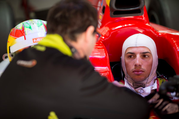 Circuit de Barcelona Catalunya, Barcelona, Spain. Tuesday 14 March 2017. Roberto Merhi (ESP, Campos Racing). Photo: Alastair Staley/FIA Formula 2 ref: Digital Image 585A7972