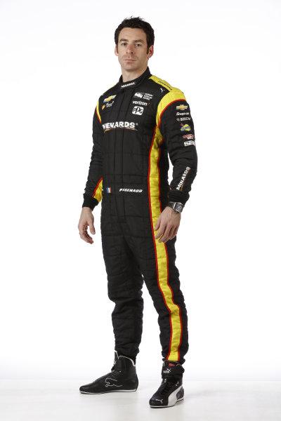 2017 IndyCar Media Day - Driver portrait Phoenix Raceway, Arizona, USA Thursday 9 February 2017 Simon Pagenaud World Copyright: Michael L. Levitt/LAT Images ref: Digital Image _AT_9669