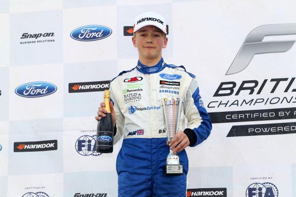 2017 F4 British Championship, Brands Hatch, 1st-2nd April 2017 Billy Monger (GBR) JHR Developments British F4  World Copyright. JEP/LAT Images