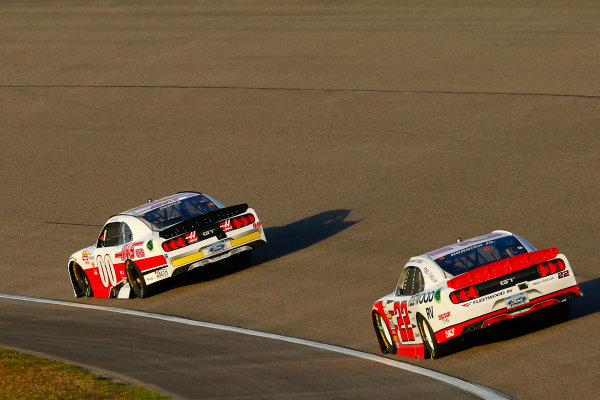 NASCAR XFINITY Series Ford EcoBoost 300 Homestead-Miami Speedway, Homestead, FL USA Saturday 18 November 2017 Cole Custer, Haas Automation Ford Mustang and Sam Hornish Jr, REV/Fleetwood RV Ford Mustang World Copyright: Russell LaBounty LAT Images