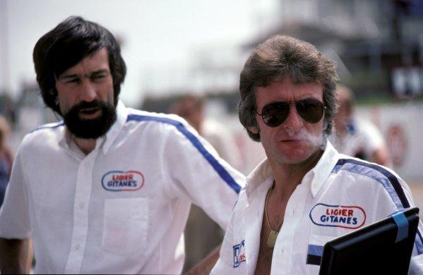 Gerard Ducarouge (FRA) Ligier Designer.1978 Formula One World Championship.