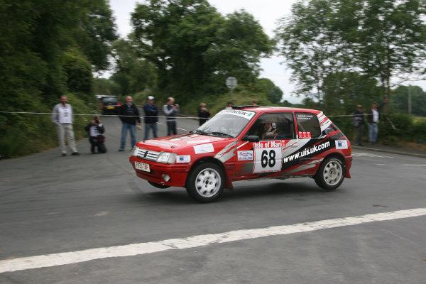 Manx International Rally, Isle of Man 10th-11th July,Austin McKinlayWorld Copyright: Jakob Ebrey/LAT Photographic