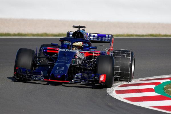 Sean Gelael, Toro Rosso STR13 Honda.
