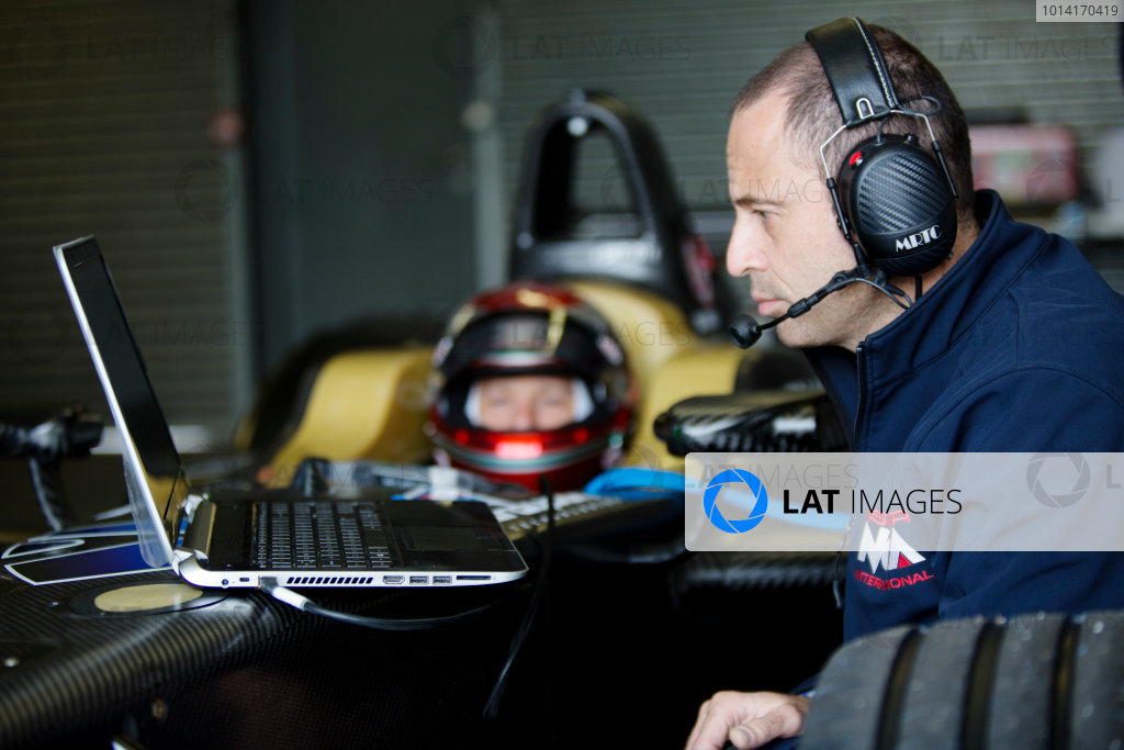 FIA Formula E Test Day, Donington Park, UK.  3rd - 4th July 2014.  Trulli GP. Photo: Malcolm Griffiths/FIA Formula E ref: Digital Image A50A2924