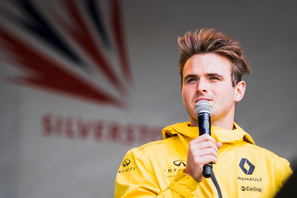 2017 FIA Formula 2 Round 6. Silverstone, Northamptonshire, UK. Friday 14 July 2017. Oliver Rowland (GBR, DAMS).  Photo: Zak Mauger/FIA Formula 2. ref: Digital Image _54I4562