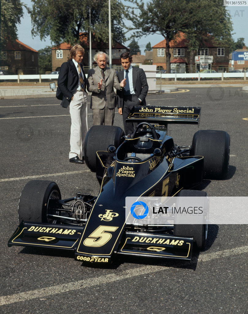 1975 Lotus Formula One Launch.