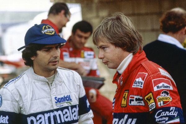 Didier Pironi and Nelson Piquet.