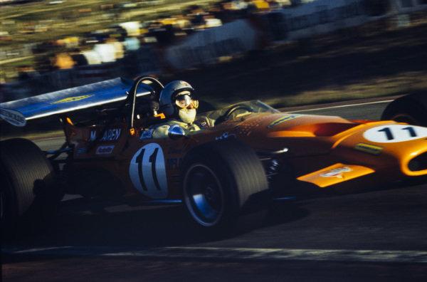Bruce McLaren, McLaren M14A Ford.