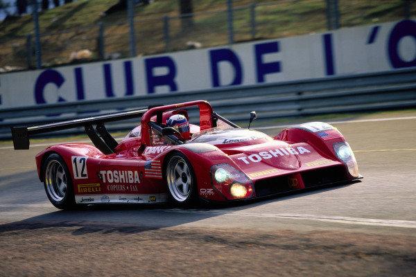 Wayne Taylor / Eric van de Poele / Fermin Velez, Doyle Risi Racing, Ferrari 333 SP.