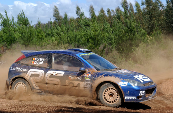2002 World Rally Championship.Telstra Rally Australia, Perth. October 31st-November 3rd.Francois Duval on stage 6.Photo: Ralph Hardwick/LAT