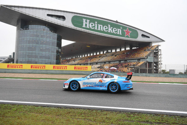 Preeda Tantemsapya (THA) Racing Spirit Thailand at Porsche Carrera Cup Asia, Shanghai, China, 13-15 April 2018.