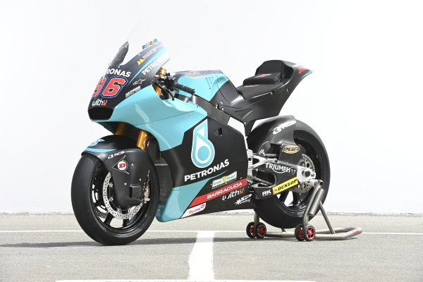 Bike of Jake Dixon, Petronas Sprinta Racing.