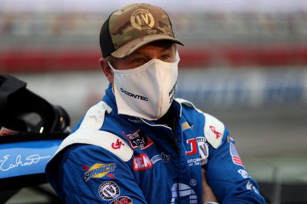 Jeffrey Earnhardt, JD Motorsports Chevrolet ContecThankYou Heroes, Copyright: Chris Graythen/Getty Images.