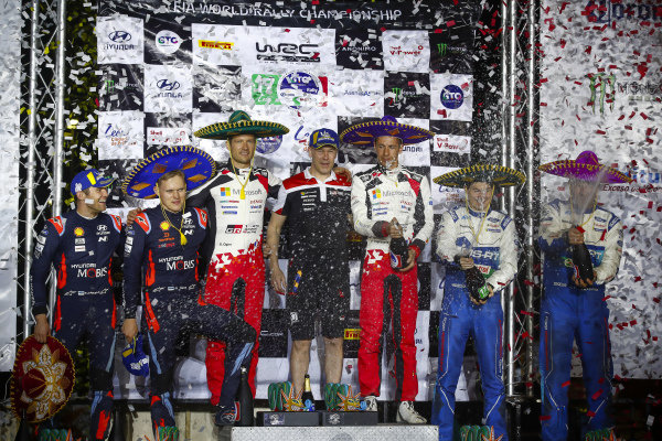 Sébastien Ogier (FRA), Julien Ingrassia (FRA), Toyota Gazoo Racing WRT, Toyota Yaris WRC 2020, Ott T?nak (EST), Martin J?rveoja (EST), Hyundai World Rally Team, Hyundai i20 Coupe WRC 2020, Teemu Suninen (FIN), Jarmo Lehtinen (FIN), M-Sport Ford WRT, Ford Fiesta WRC 2020