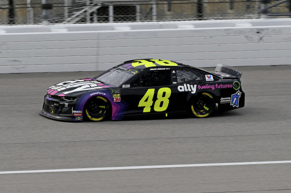 #48: Jimmie Johnson, Hendrick Motorsports, Chevrolet Camaro Ally Fueling Futures