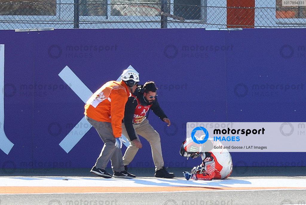 Francesco Bagnaia, Pramac Racing after crash