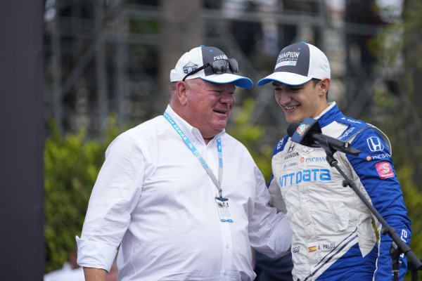 #10: Alex Palou, Chip Ganassi Racing Honda and Chip Ganassi.